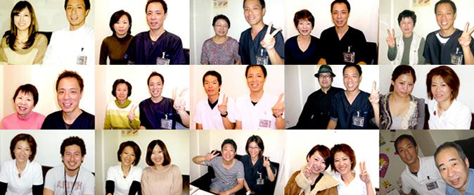 大阪市天王寺区あんじ整体院で改善された患者様との2ショット写真